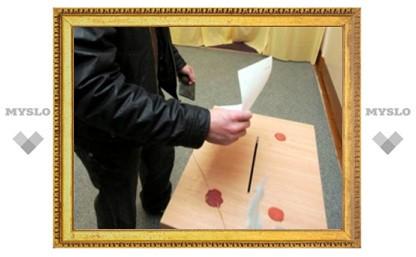 В Тульской области закрылись избирательные участки