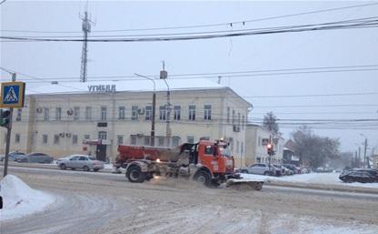 Снегопад в Туле: с утра зарегистрировано почти 40 ДТП