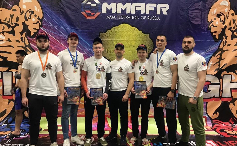 Туляки стали победителями рейтингового турнира федерации ММА России