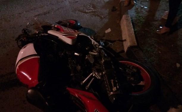 В Туле в ДТП на пересечении улиц Луначарского и Штыковой погиб мотоциклист