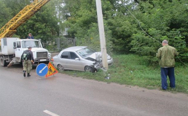 В ДТП на улице Приупской в Туле пострадали два человека