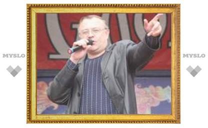 Тульскому певцу Евгению Гречишкину вручили награду