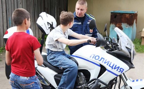 Тульские полицейские встретились с воспитанниками Центра временного содержания несовершеннолетних правонарушителей