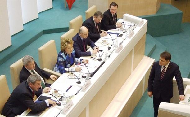 Владимир Груздев получил почетный знак Совета Федерации