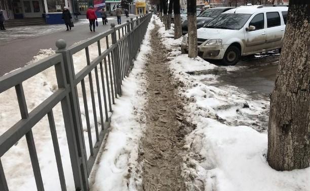 Инструкция: Куда туляки могут пожаловаться на неубранный снег