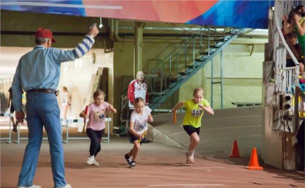 Самые юные легкоатлеты области выявили лучших на пяти дистанциях