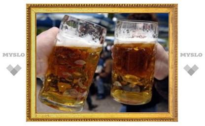 Небольшие дозы алкоголя высвобождают эндорфины