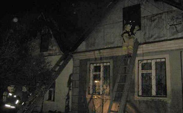 Пожар в частном доме в Туле: погибли два человека
