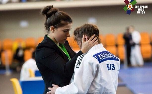 Тульская дзюдоистка выиграла бронзу на Кубке Европы
