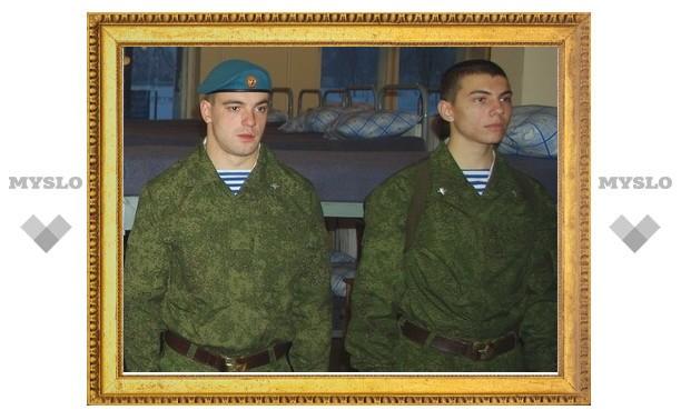 Тульские солдаты будут спать на ортопедических матрацах
