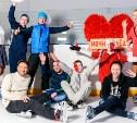 Туляки отметили День святого Валентина ночным катанием на коньках