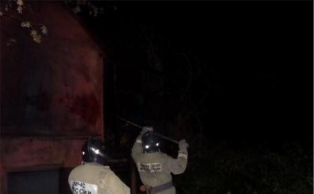 В Кимовске во время пожара на голубятне погиб мужчина