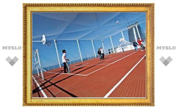 В течение лета в Туле построят 20 спортплощадок