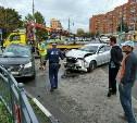 Подробности: В аварии в центре Тулы пострадали 7 человек