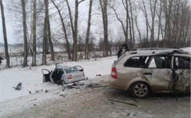 В ДТП в Тульской области погибли четыре человека