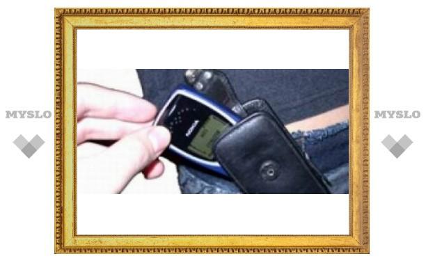Туляки воруют мобильные телефоны