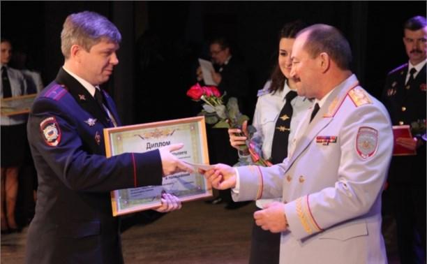 Лучшим полицейским Тульской области стал майор полиции Валерий Красов