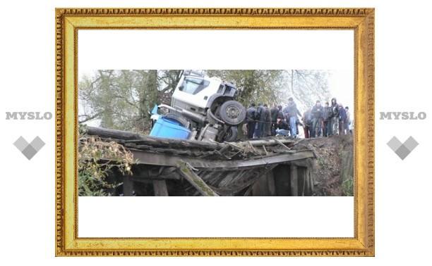 Под Тулой рухнул мост