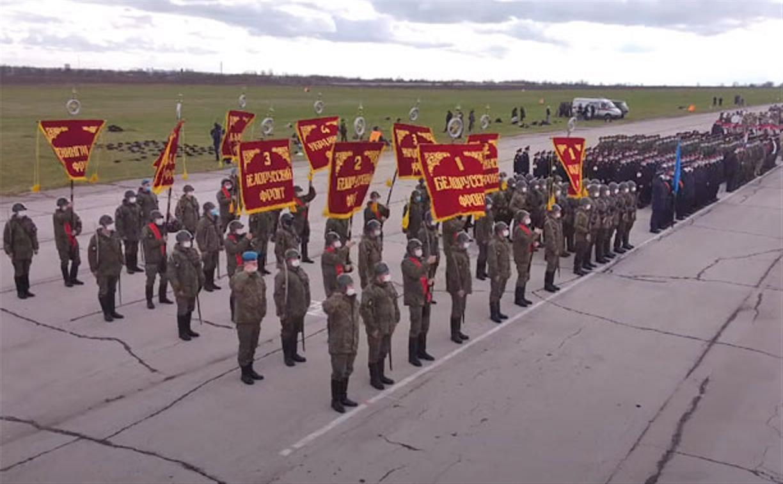 Минобороны опубликовало видео тренировки Тульского гарнизона перед парадом Победы