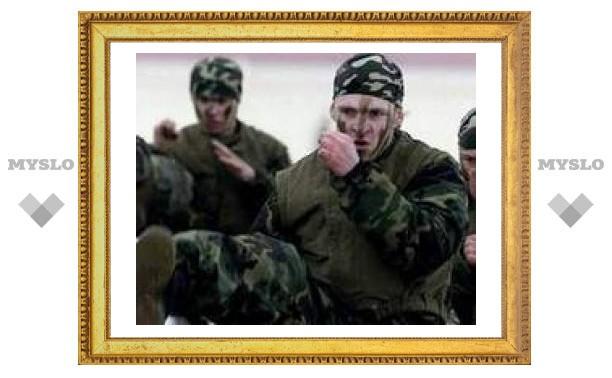 Тульский спецназ вернулся из Ингушетии