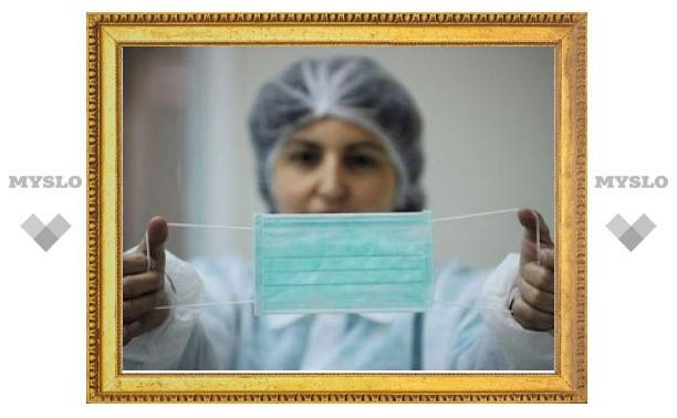 В Тульской области участились случаи заболевания гриппом среди детей