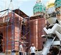 Реставрация Тульского кремля: Колокольня уже выше человеческого роста!