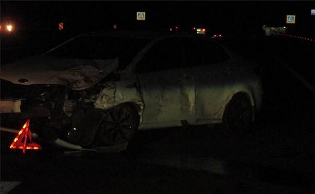 В ночных ДТП на трассе М4 пострадали двое детей