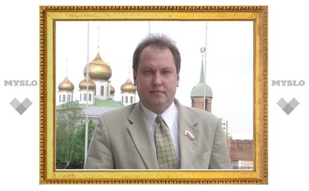 Мэр Тулы поддержал кандидатуру Олега Самылина