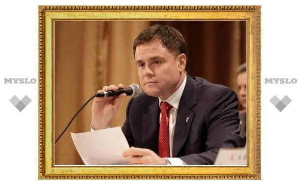 Губернатор Владимир Груздев обратился к тульским «чернобыльцам»