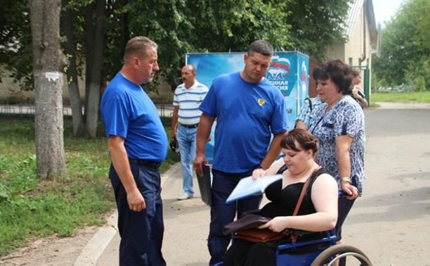 Девушка-инвалид из Ефремовского района отправится на реабилитацию благодаря «Выездной поликлинике»