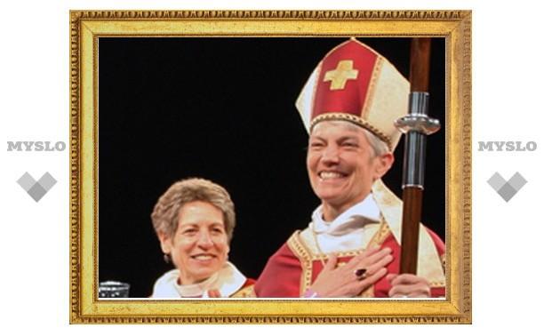 В США состоялась ординация епископа-лесбиянки
