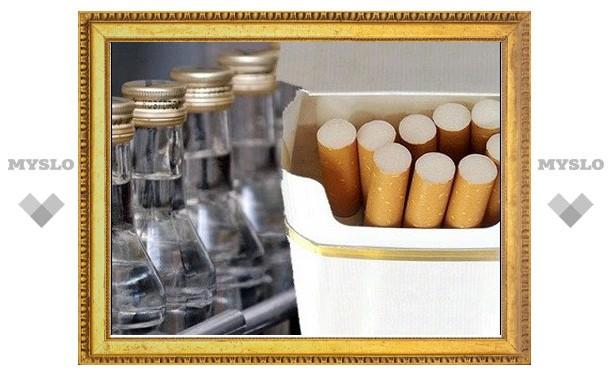 Алкоголь и сигареты подорожают