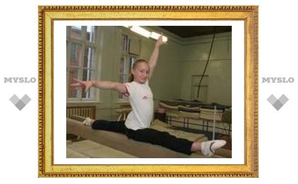Ксюша Семенова - лучшая гимнастка Европы
