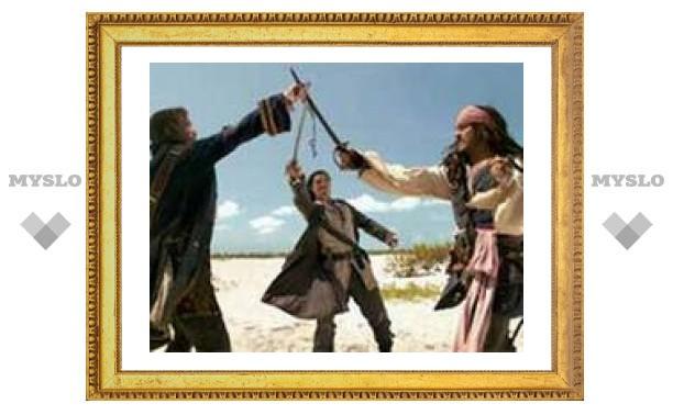 """Премьера ролика """"Пиратов Карибского моря 3"""" превратится в шоу"""