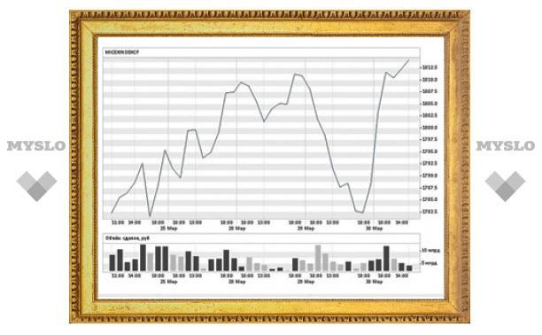Индекс ММВБ обновил максимум 2011 года