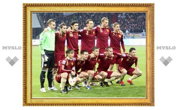 Россия покинула первую десятку рейтинга ФИФА