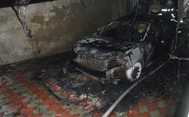 В Басово-Прудном сгорела «Тойота-Камри»