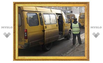 В Туле подрались водитель маршрутки и водитель автобуса