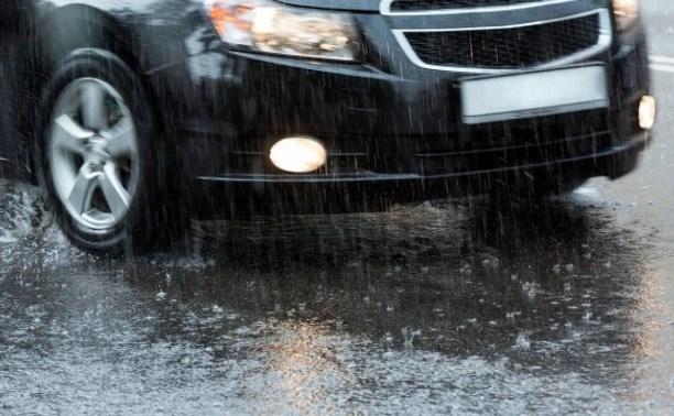 Тульское Управление МЧС призывает автолюбителей быть осторожнее в плохую погоду
