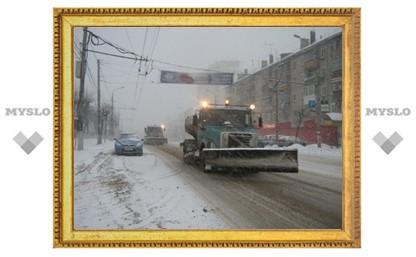 Снег будут убирать по графику