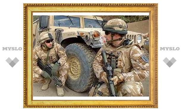 Британская армия ушла из Ирака в Кувейт