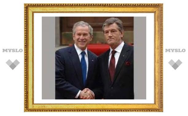 В Вашингтоне Ющенко и Буш обсудят ПДЧ Украины в НАТО