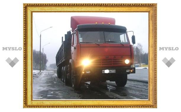 В Тульской области закрывают движение для грузовиков