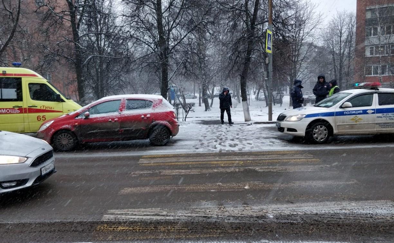 В Туле на улице Кирова «Опель» сбил трех пешеходов