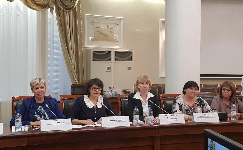 Тульский детский омбудсмен Наталия Зыкова с рабочим визитом посетила Архангельск