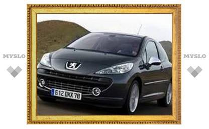 Самый быстрый Peugeot 207 добрался до России