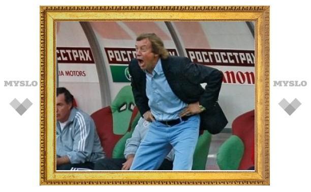 Юрий Семин дисквалифицирован на один матч