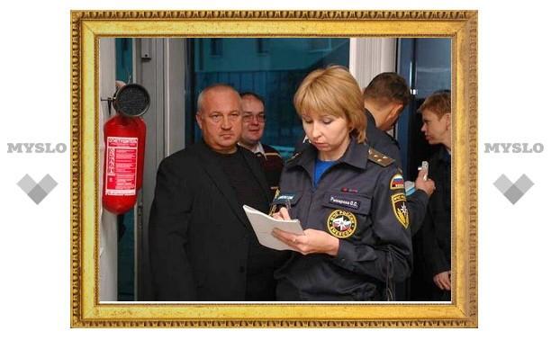 Две школы в Тульской области не прошли проверку пожарной безопасности