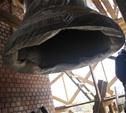 Колокольню Успенского собора совсем скоро увенчают шпилем