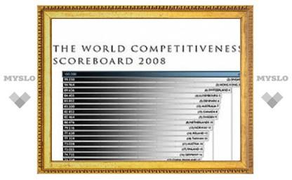 Российская экономика оказалась на 47 месте по конкурентоспособности